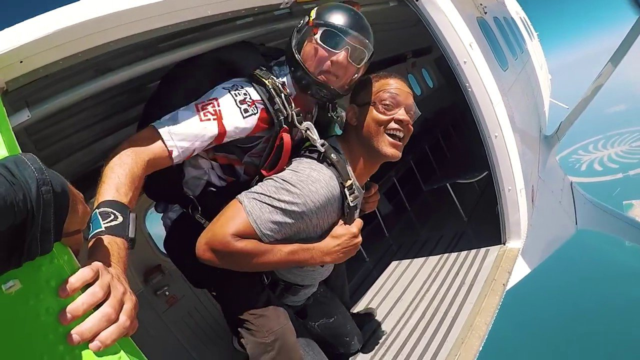 прыжок с парашютом уилл смит правила жизни